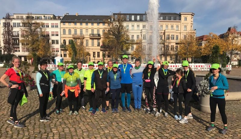 Potsdamer Urban Trail Light am 25.10.2020